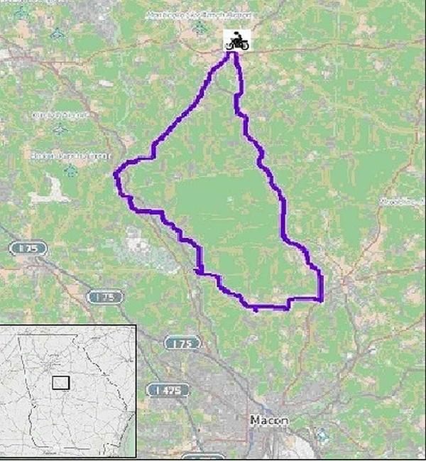 Piedmont National Wildlife Refuge Ride (Georgia)
