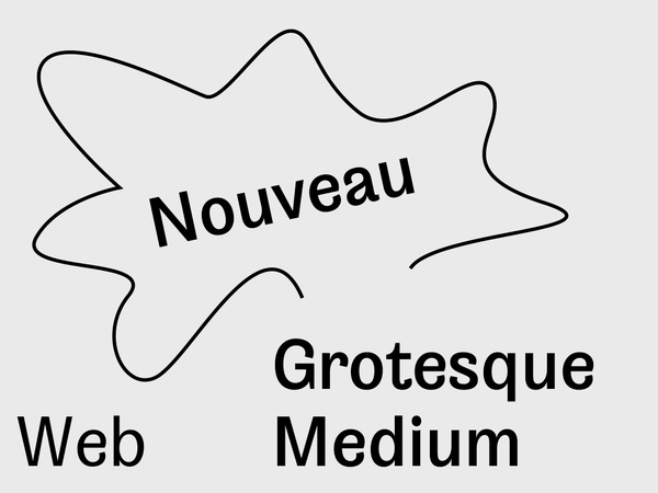 Nouveau Grotesque Medium Web 10.000 Pageviews