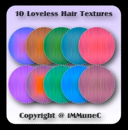 10 Loveless Hair Textures With Resell Rights