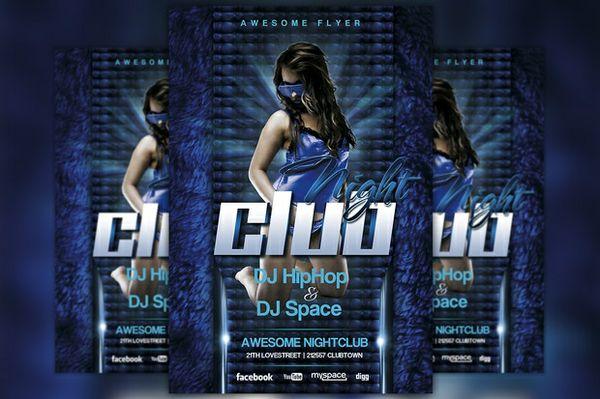 Future Nightclub Flyer Template