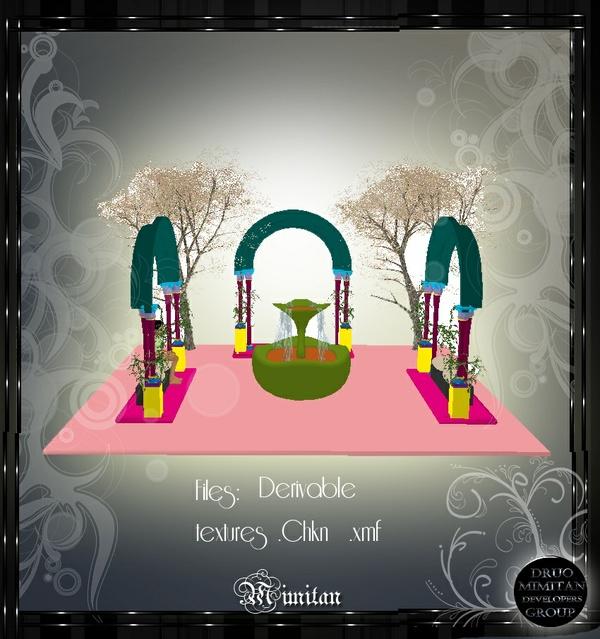 Derivable Arc Fountain