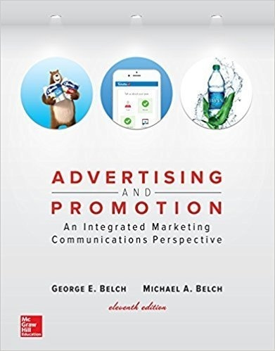 Advertising and Promotion An Integrated Marketing Communications 11th Ed  ( Instant download )