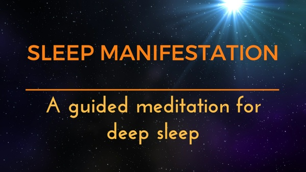 MANIFESTING DEEP SLEEP A GUIDED MEDITATION ASMR