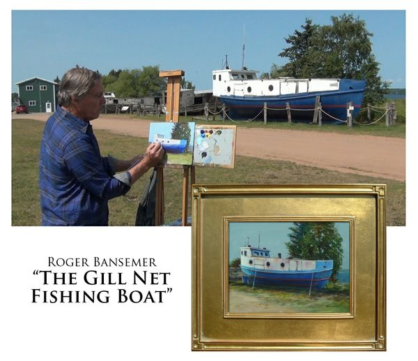 The Gill Net Fishing Boat