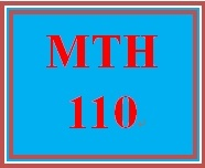 MTH 110 Week 1 Mathematical Happenings