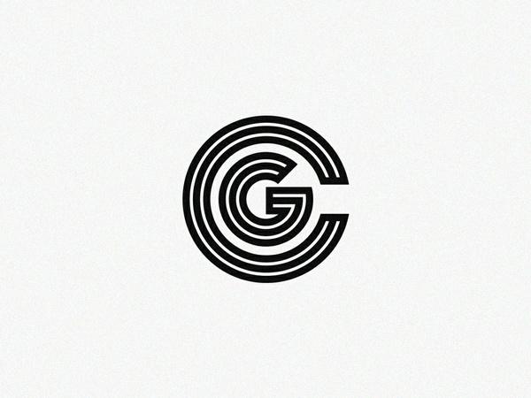 'CG' :  Logo Design