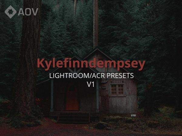AOV x Kylefinndempsey v1 Lightroom Presets