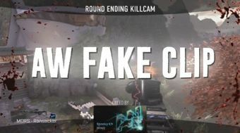 5 Advanced Warfare Fake clips