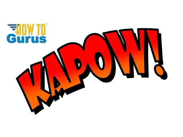 How to Make a Super Hero Text Effect in Photoshop CS5 CS6 CC Tutorial