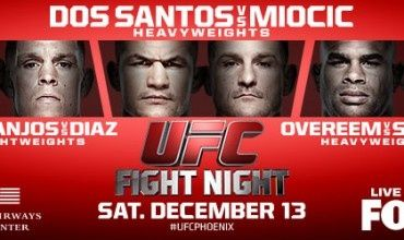 UFC on Fox 13: Dos Santos vs Miocic Paid Betting Tips