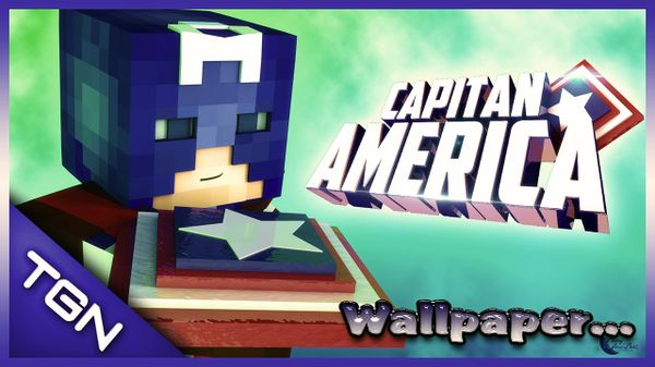 Wallpaper Capitan America By:GamerJuanAec