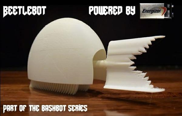 3D Printed BeetleBots - STL Files