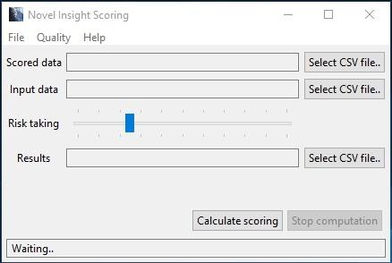Novel Insight Customer Scoring