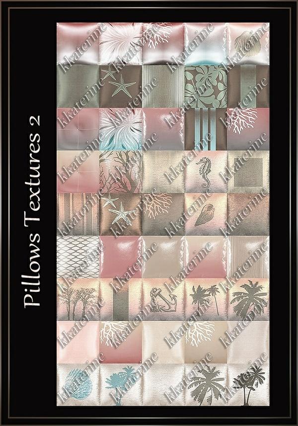 Pillows Textures 2~ 45 Textures