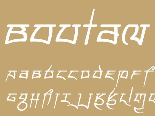 Boutan Italic