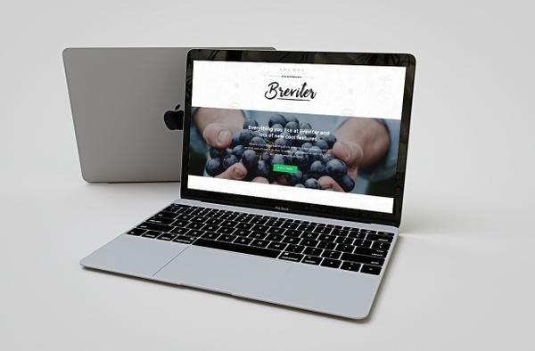 Breviter Pro - sharp, responsive WordPress theme