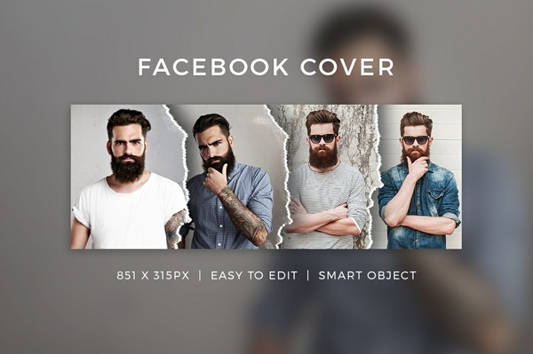 Creative Facebook Cover V18