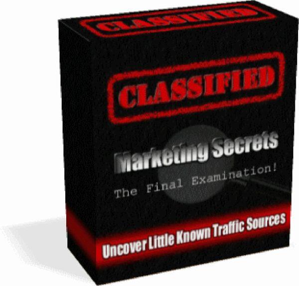 Classified Marketing Secrets 3 PDF eBooks and Video Tutorial-PLR