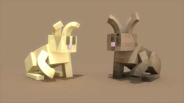 Minecraft Bunny Rig
