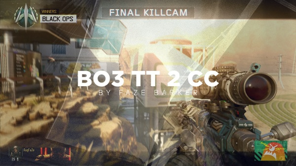 FaZe BO3 Teamtage 2 CC