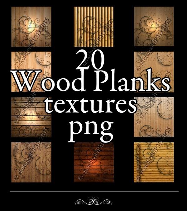 20 Wood Plank Textures