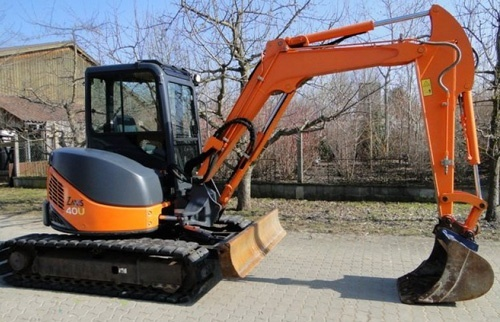 Hitachi Zaxis 40U-2 50U-2 Excavator Service Repair Manual Download