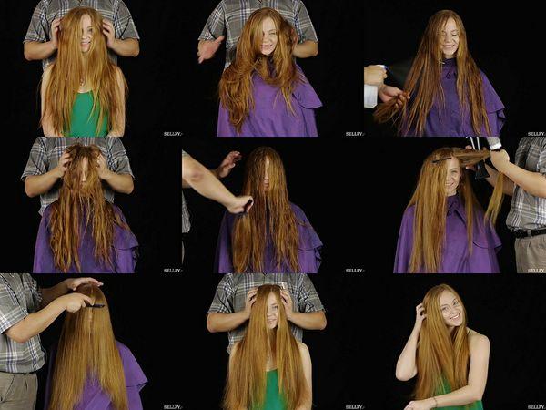 Ella's Hair Play Part 1