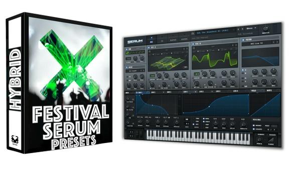 Festival Xfer Serum Bank - 134 Multi-Genre Presets