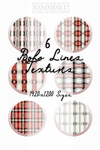 6 BohoLines Texture