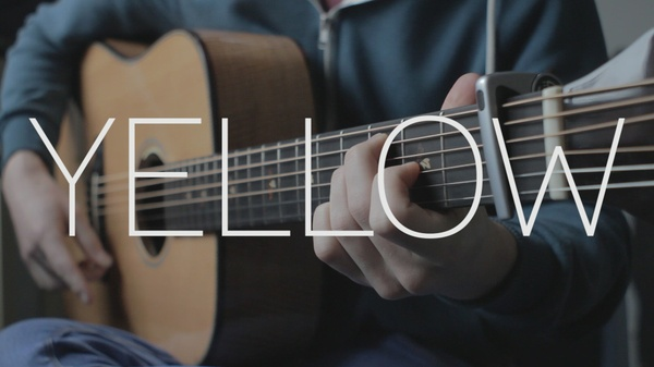 Coldplay - Yellow - Fingerstyle Tab