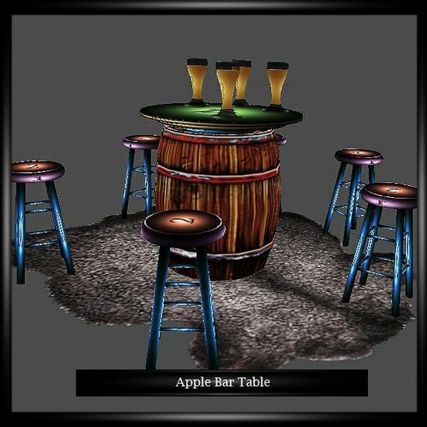 Apple Bar Table