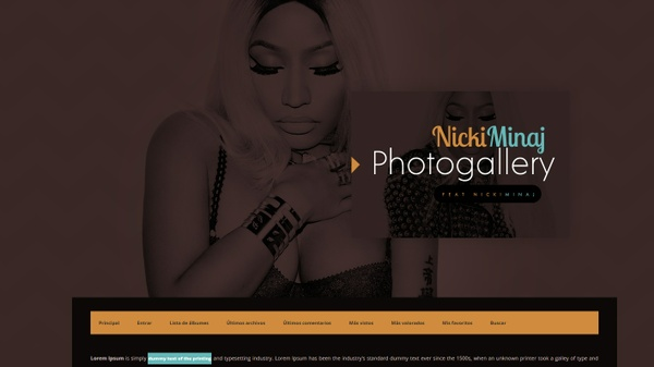 Coppermine Theme #05