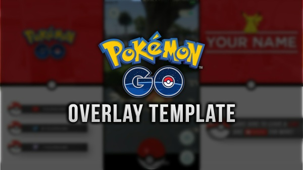 Pokemon GO Video/Stream Overlay Template