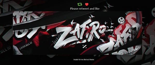 Header for me (Zafiro) | Psd Template
