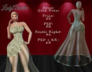 Gold Dress File