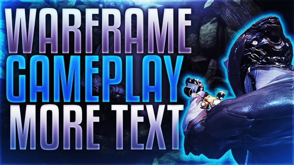 Warframe Thumbnail Template Pack for YouTube