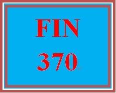 FIN 370 Week 2 Learning Team Charter