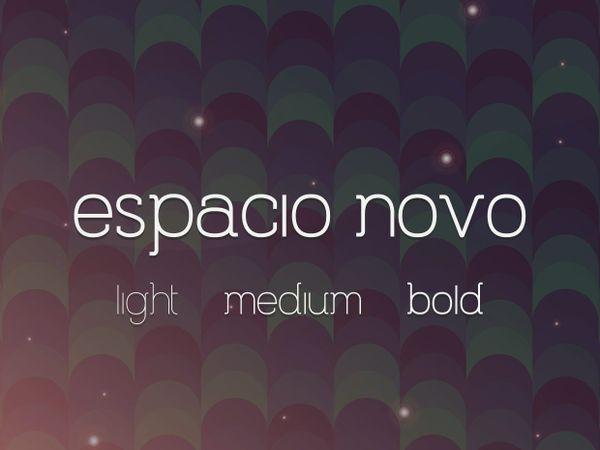 Espacio Novo Font Family