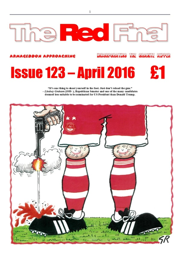 The Red Final, Issue 123
