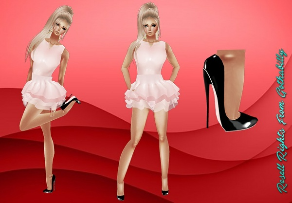 Candy Girl Shoes & Dress Catty Only!!!