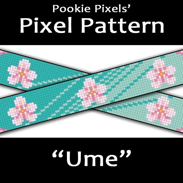 Ume Pixel Pattern