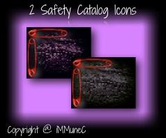 2 Safety Catalog Icons