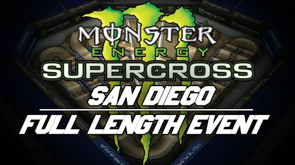 2018 Monster Energy Supercross Round 6 San Diego 720p HD