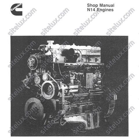 Cummins N14 Engines Shop Manual