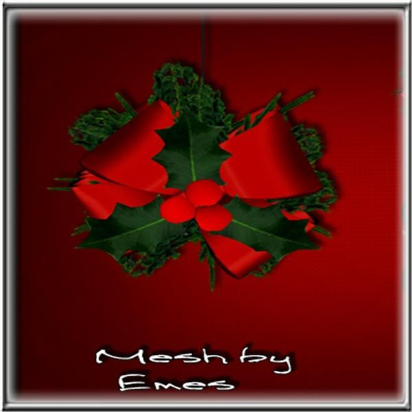 Mesh -Mistletoe Poseless