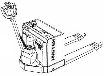 Hyster Pallet Truck Type W40XT (A218), W45XT (A215), W45XT (B215) Workshop Service Manual