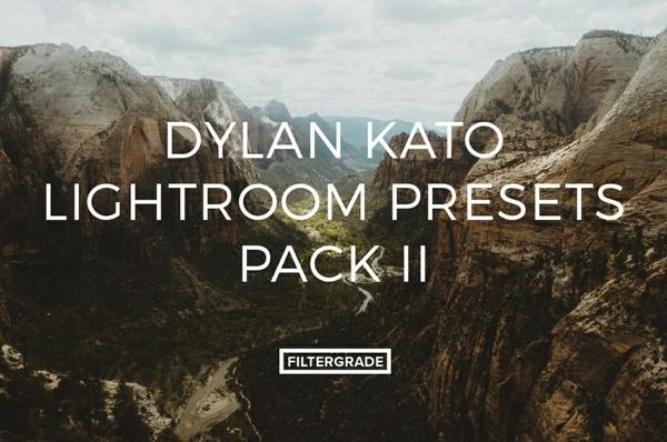 Filtergrade Dylan Kato Lightroom Presets