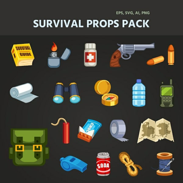 SURVIVAL PROPS PACK