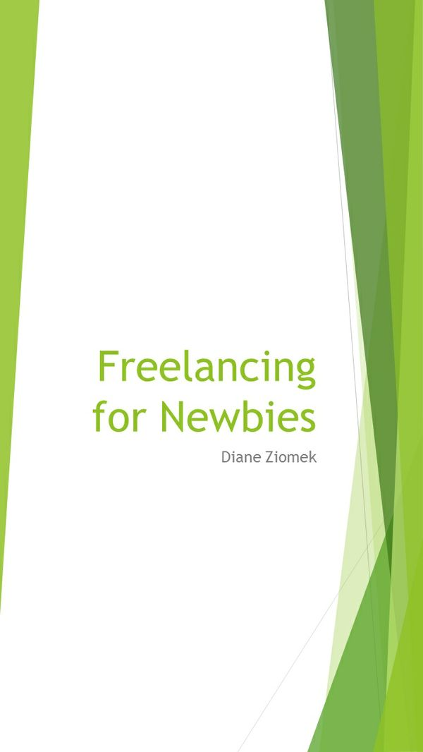 Freelancing for Newbies