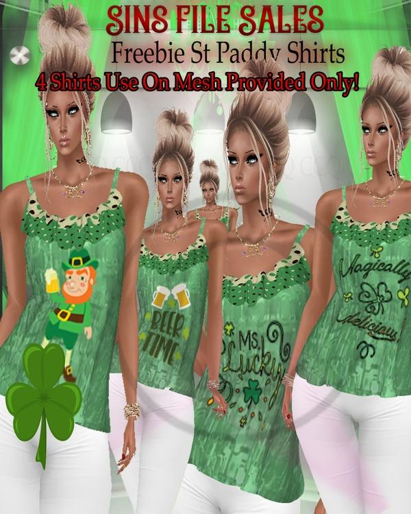 🍀Freebie🍀 St Paddy Shirts*CHKN